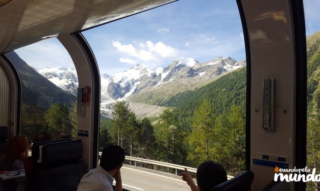 Calor nos Alpes dia 3: Bernina Express