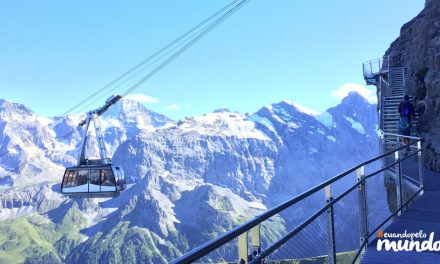 Calor Nos Alpes dia 10: Schilthorn, a montanha do filme 007