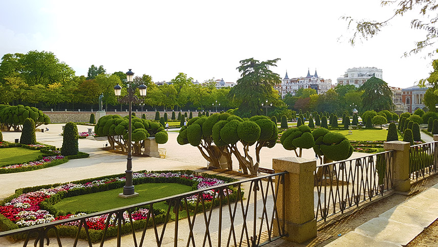 Parque do Retiro Madri