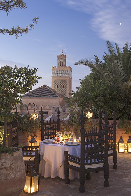 Restaurante La Sultana Marrakesh